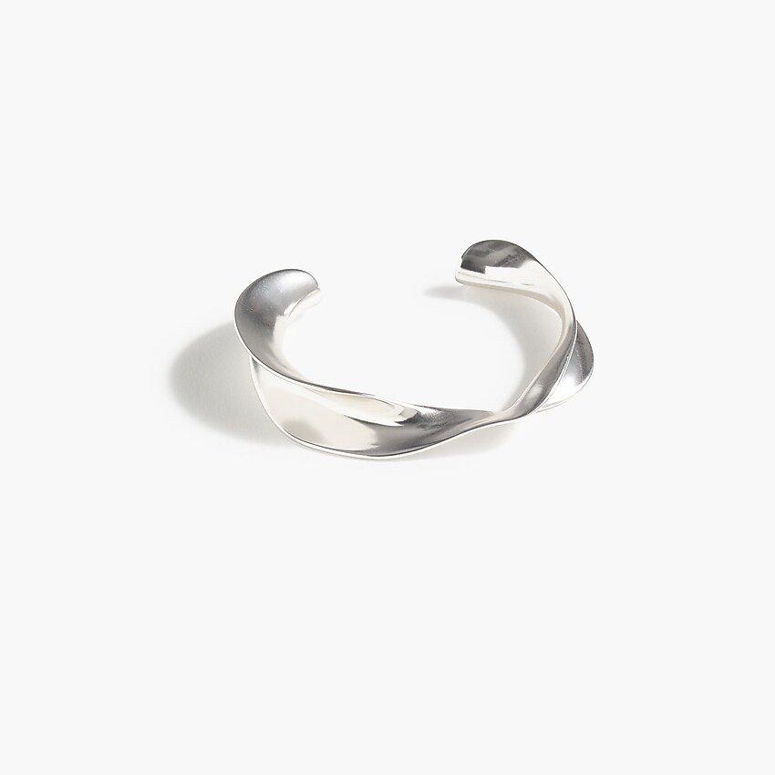 J.Crew: Metal Twist Cuff Bracelet