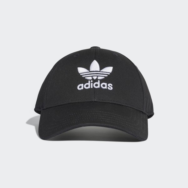 adidas Trefoil Baseball Cap - Black | adidas US