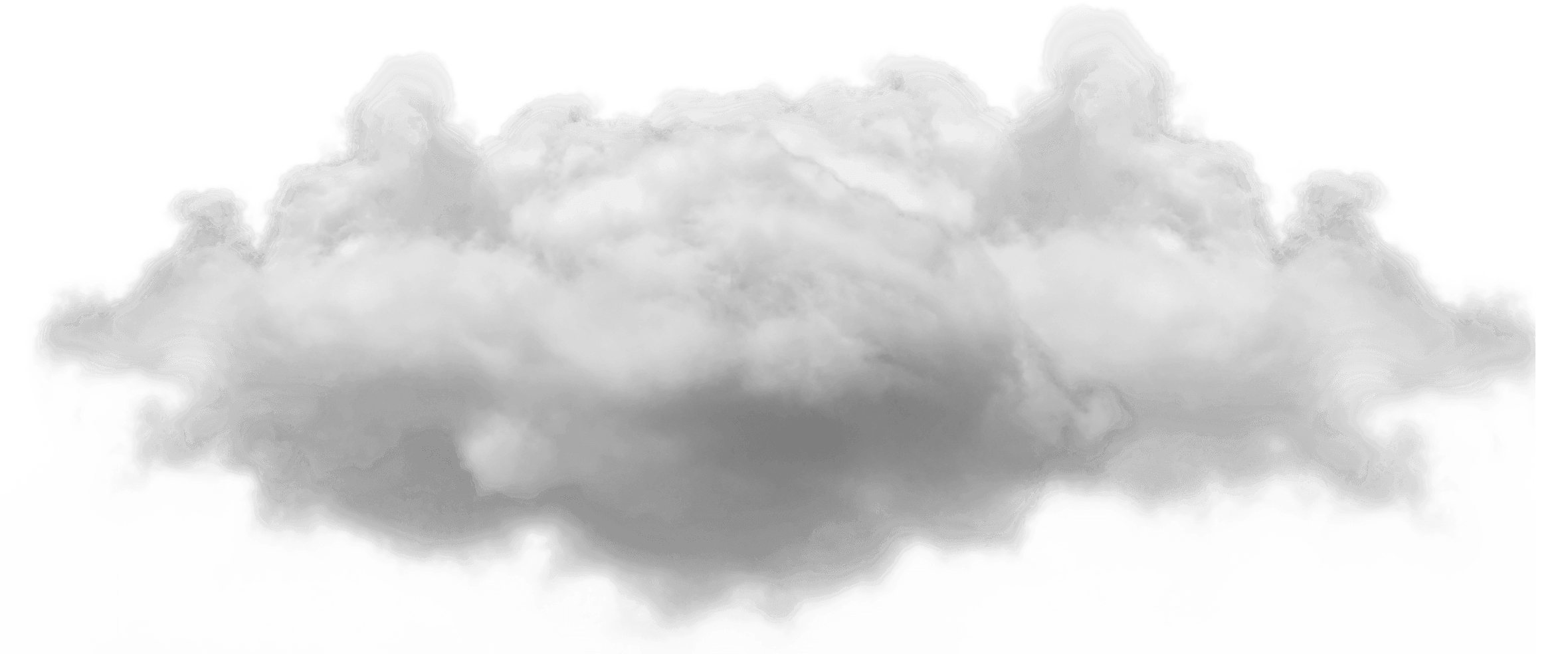 Small Single Cloud transparent PNG - StickPNG