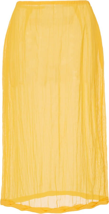 Rejina Pyo Dani Cotton Voile Pencil Skirt Size: 8