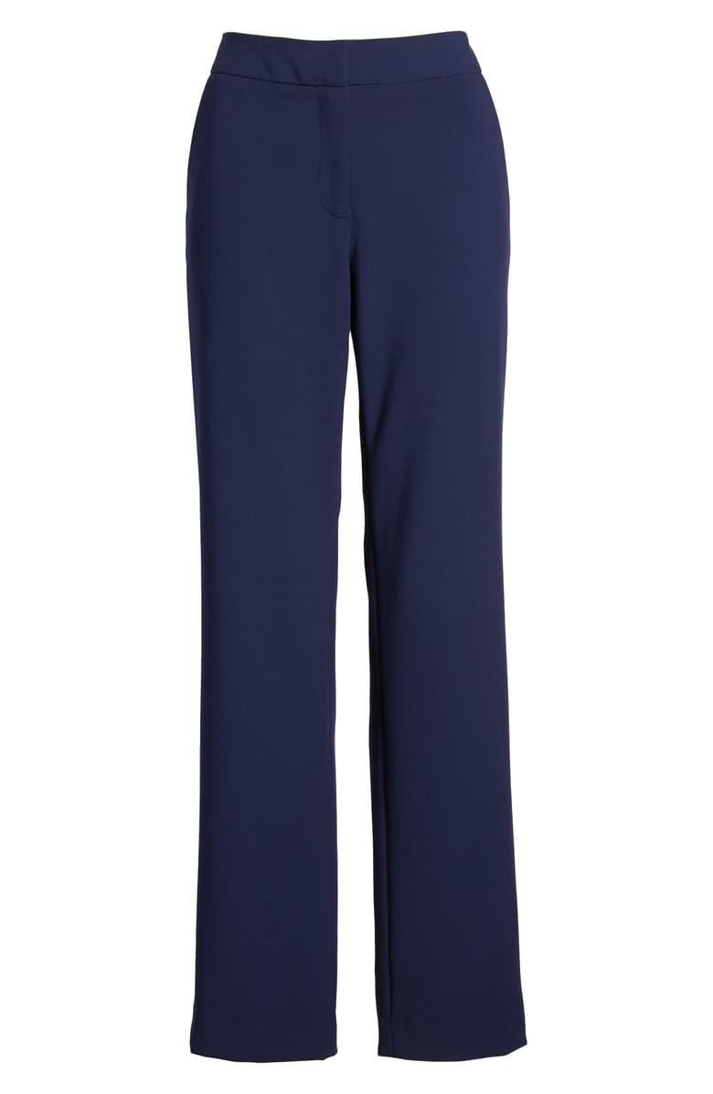 Halogen® Slim Straight Trousers (Regular & Petite) | Nordstrom