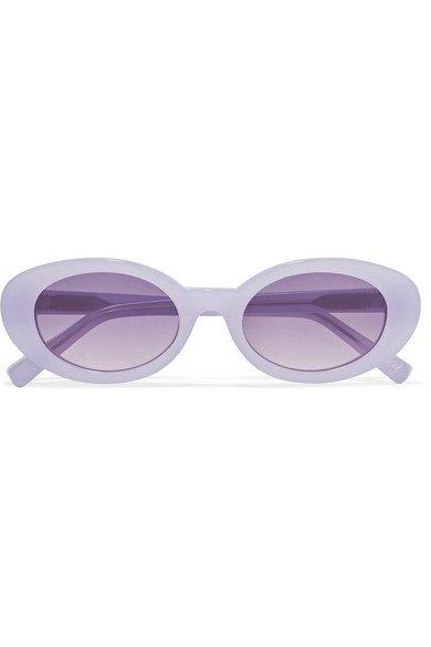 Elizabeth and James   McKinley oval-frame acetate sunglasses   NET-A-PORTER.COM