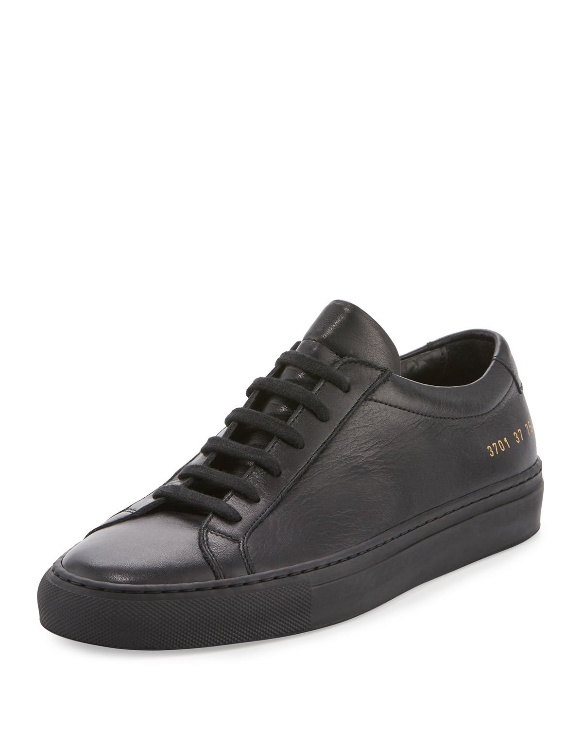 Common Projects Achilles Leather Low-Top Sneakers
