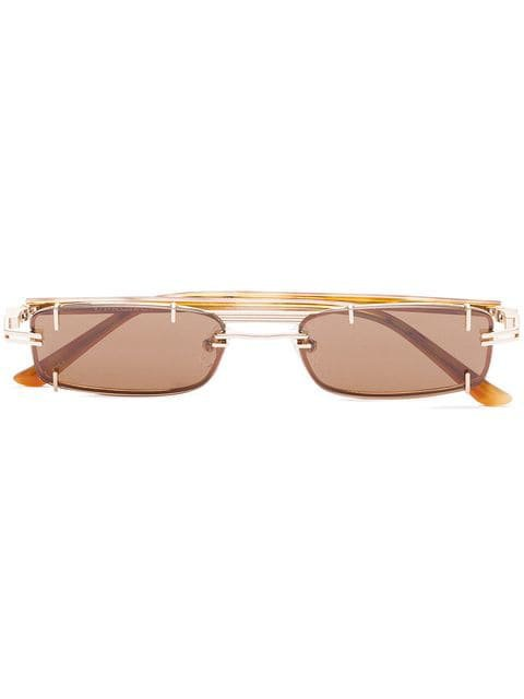 Y / Project Brown Trinity Sunglasses - Farfetch