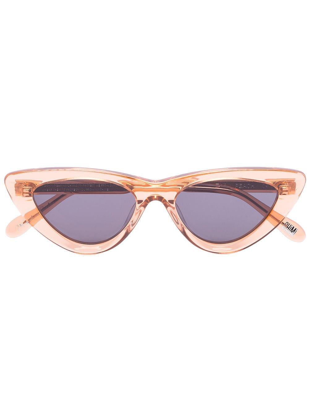 Chimi Peach Cat Eye Sunglasses - Farfetch
