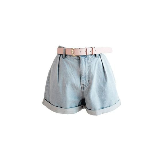 Pink/Belted Shorts