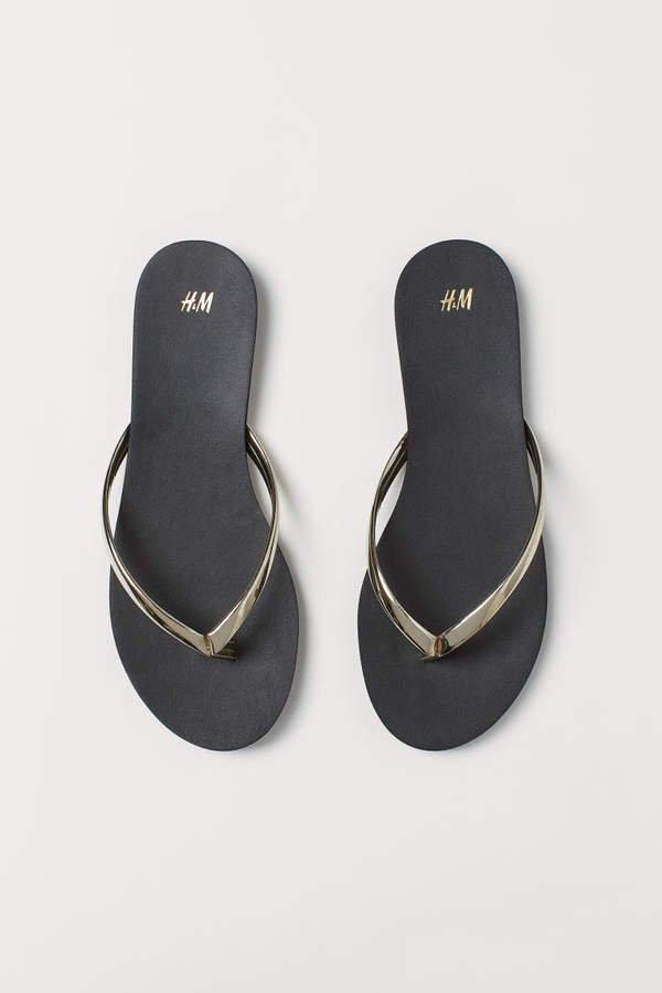 Flip-flops - Gold