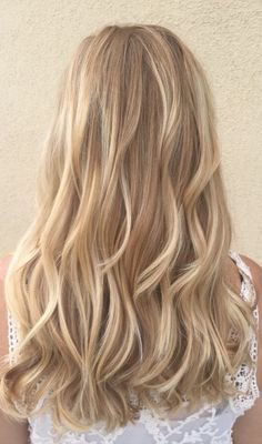24 Bombshell Ideas for Blonde Hair with Highlights   Hair Color   Hair, Warm blonde hair, Hair Color