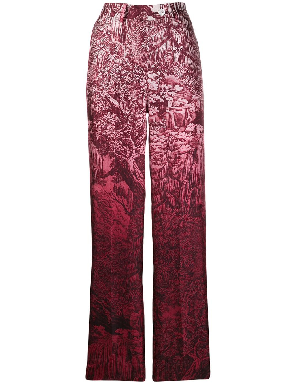 F.r.s For Restless Sleepers Patterned Straight-Leg Trousers