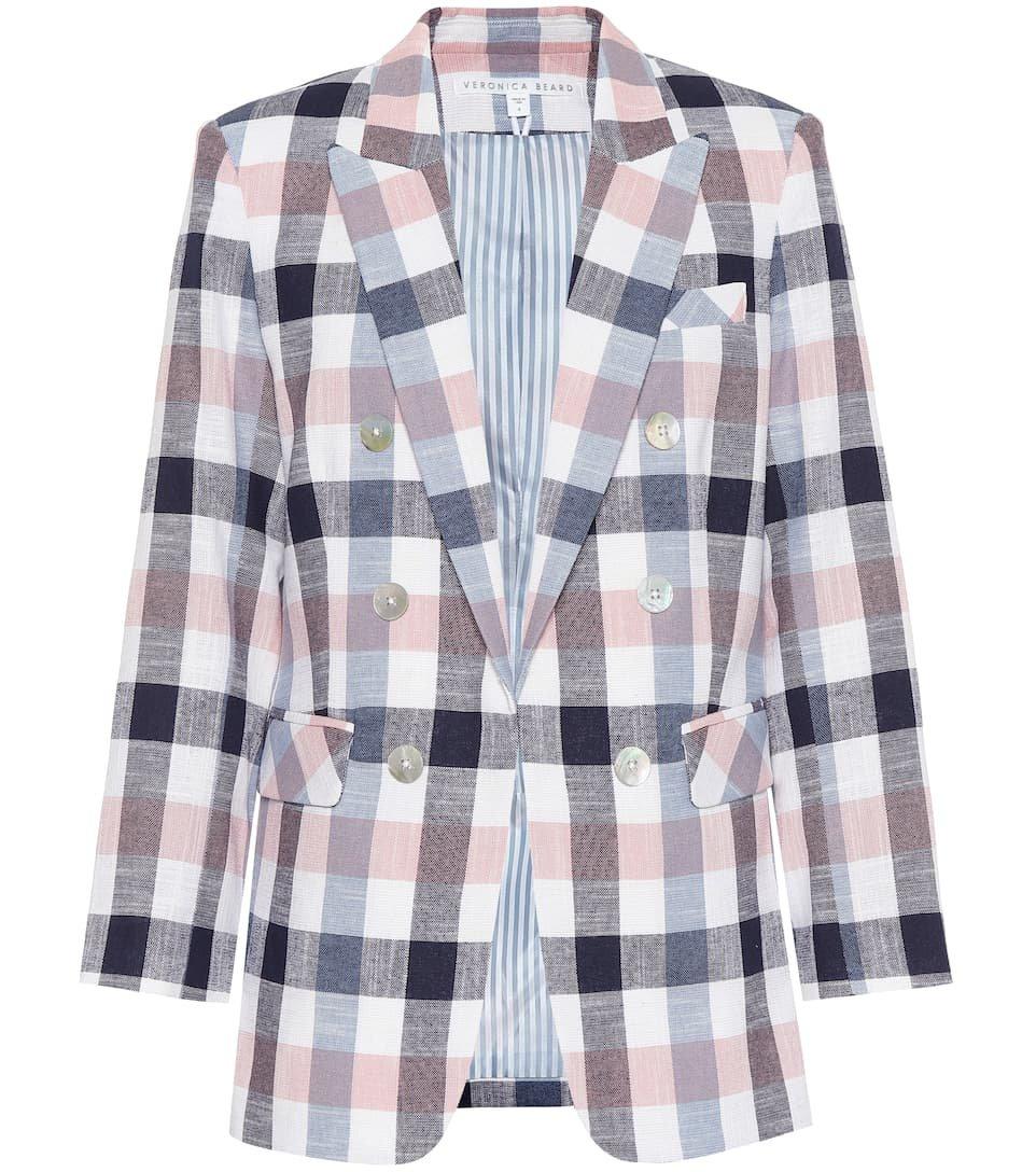 Bexley Dickey Cotton-Blend Blazer | Veronica Beard - Mytheresa