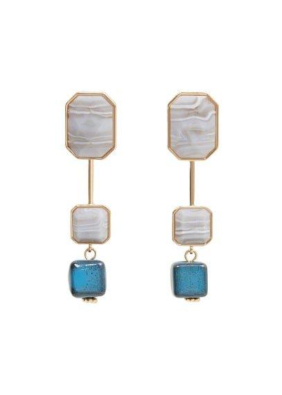 Violeta BY MANGO Ceramic earrings