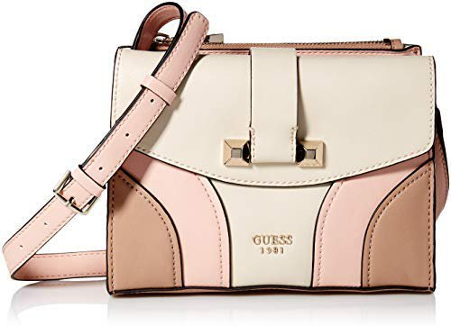 GUESS Islington Crossbody Flap, Stone Multi: Amazon.in: Clothing & Accessories