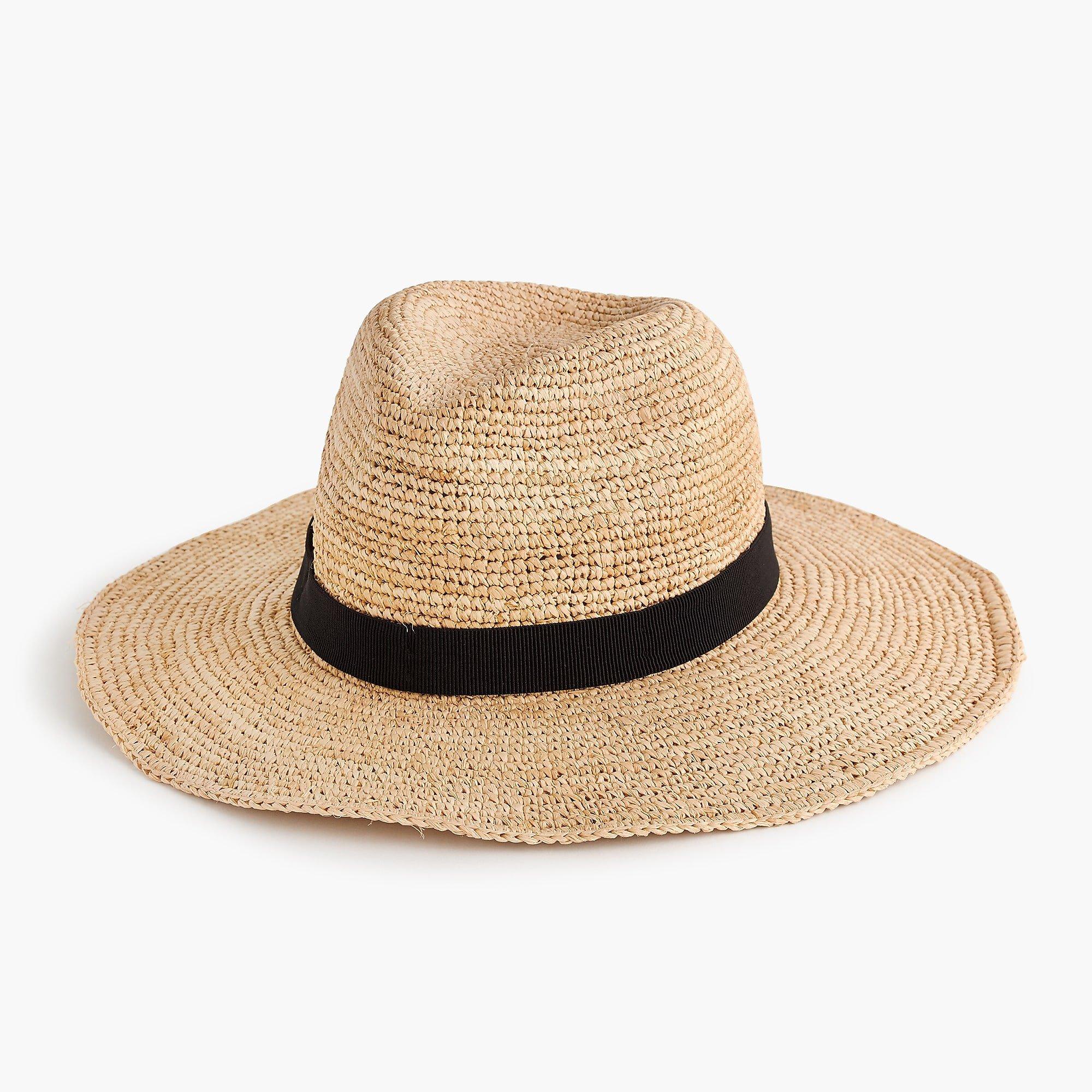 J.Crew: Wide-brim Packable Straw Hat