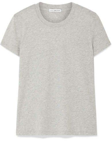 Vintage Boy Cotton-jersey T-shirt - Gray