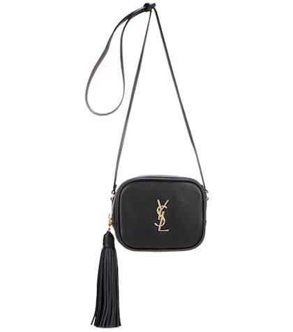 Monogram Blogger leather shoulder bag