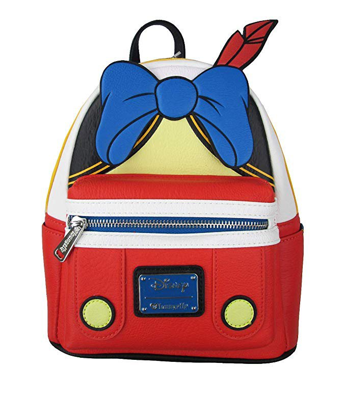 Amazon.com   Loungefly Disney's Pinocchio Faux Leather Mini Backpack Standard   Casual Daypacks