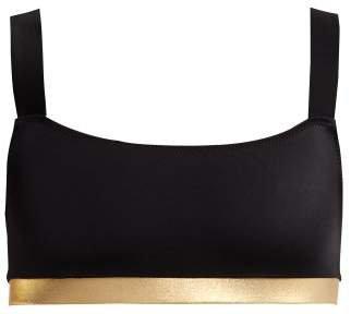 The Madison Bikini Top - Womens - Black Gold