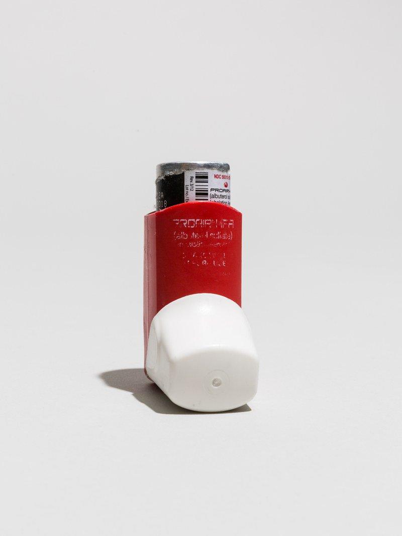 Red inhaler