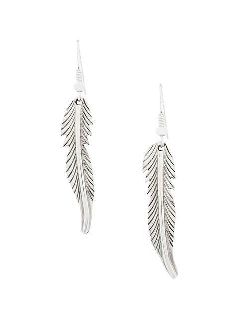 Jessie Western small feather earrings