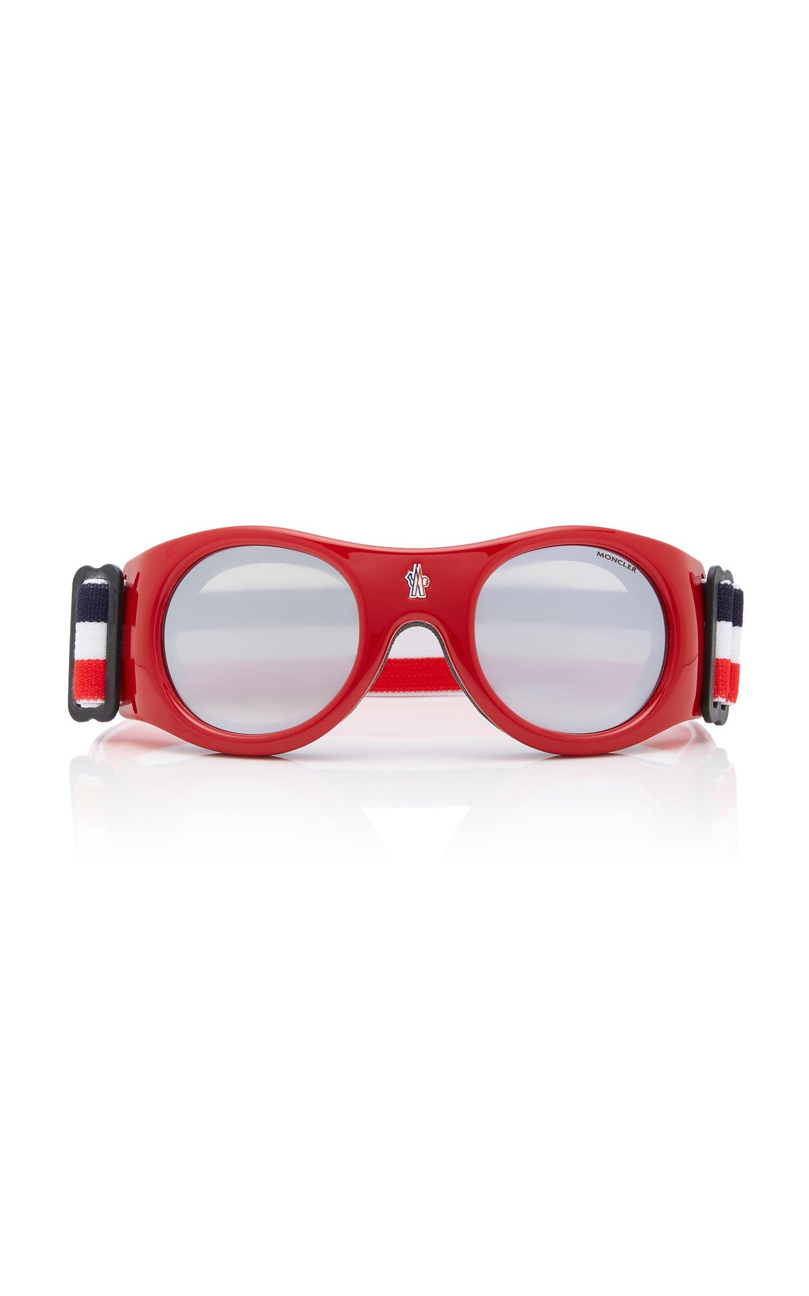Moncler sunglasses Round-Frame Ski Goggles