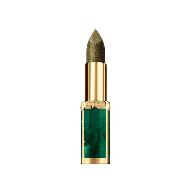 olive green metallic lipstick - Google Search