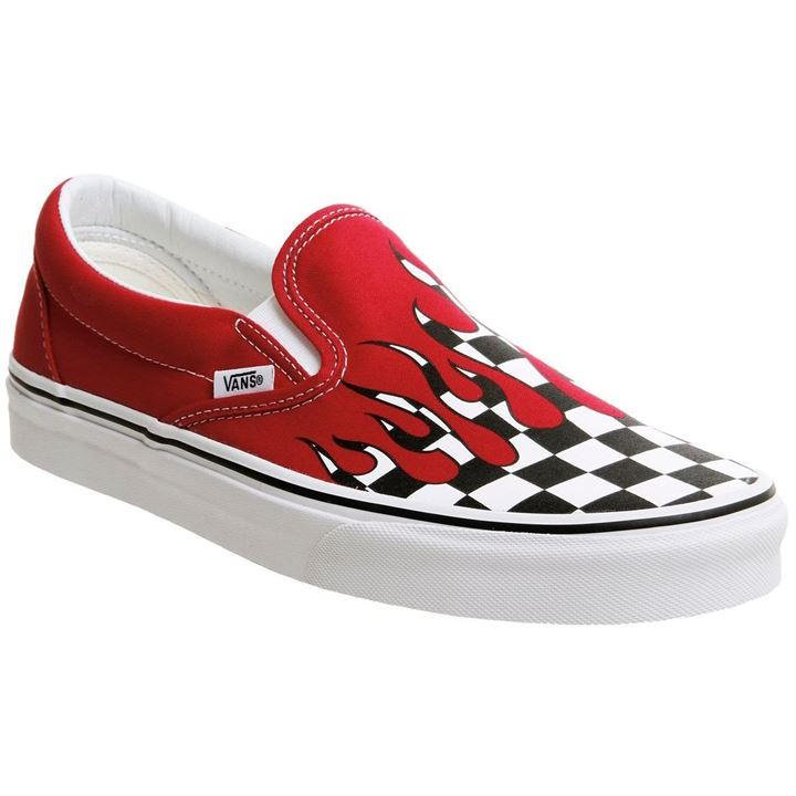 Vans Classis Slip On Trainers - House of Fraser