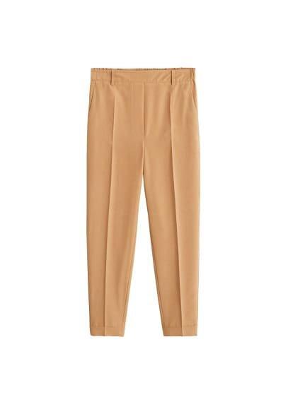 MANGO Modal suit trousers