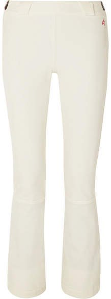 Perfect Moment - Ancelle Flared Ski Pants - White