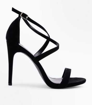 strappy black heels - Google Search