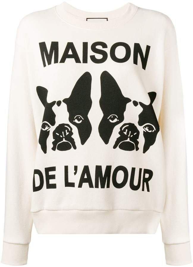 Maison de l'Amour sweatshirt