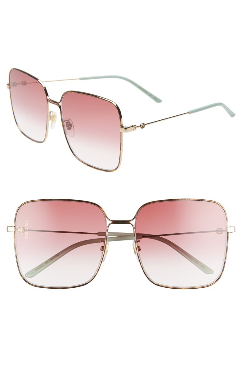 Gucci 60mm Gradient Square Sunglasses | Nordstrom