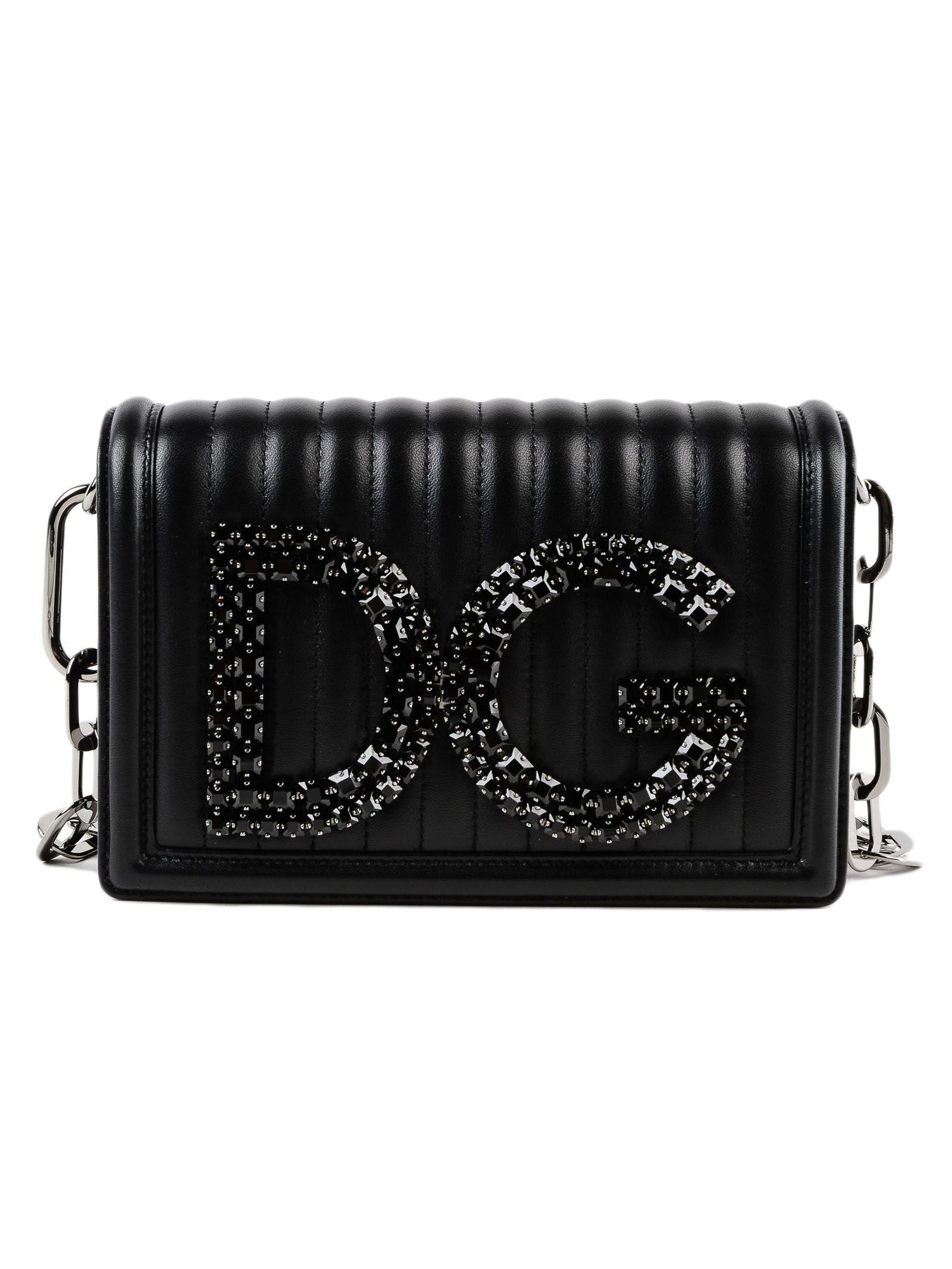 Dolce & Gabbana Matelassé Dg Clutch