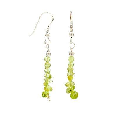 Buy Online Women's Handmade Peridot Earrings | Mystic Self LLC