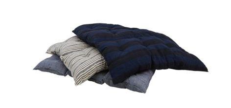 blue grey pillows png filler