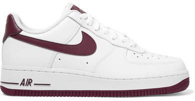 Air Force 1 07 Leather Sneakers - White