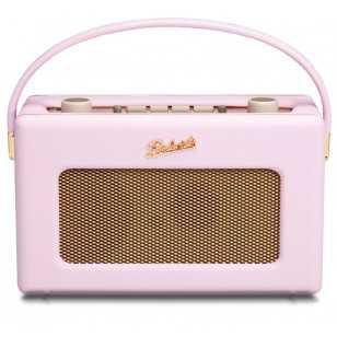 Radio vintage Roberts Revival RD60 pastel pink