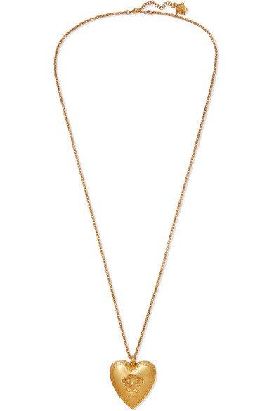 Versace   Gold-tone necklace   NET-A-PORTER.COM