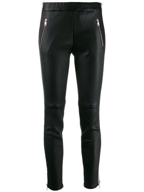 Alexander McQueen Legging Com Listra Lateral - Farfetch