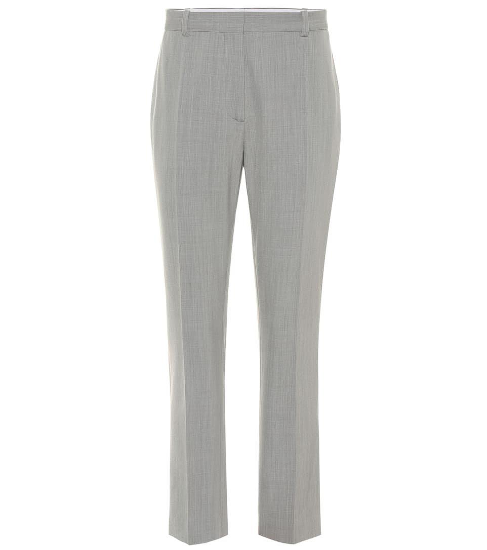 Zoom Wool-Blend Straight Pants   Joseph - Mytheresa