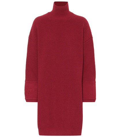 Cashmere sweater-dress