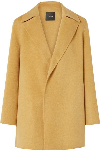 Theory | Wool and cashmere-blend coat | NET-A-PORTER.COM