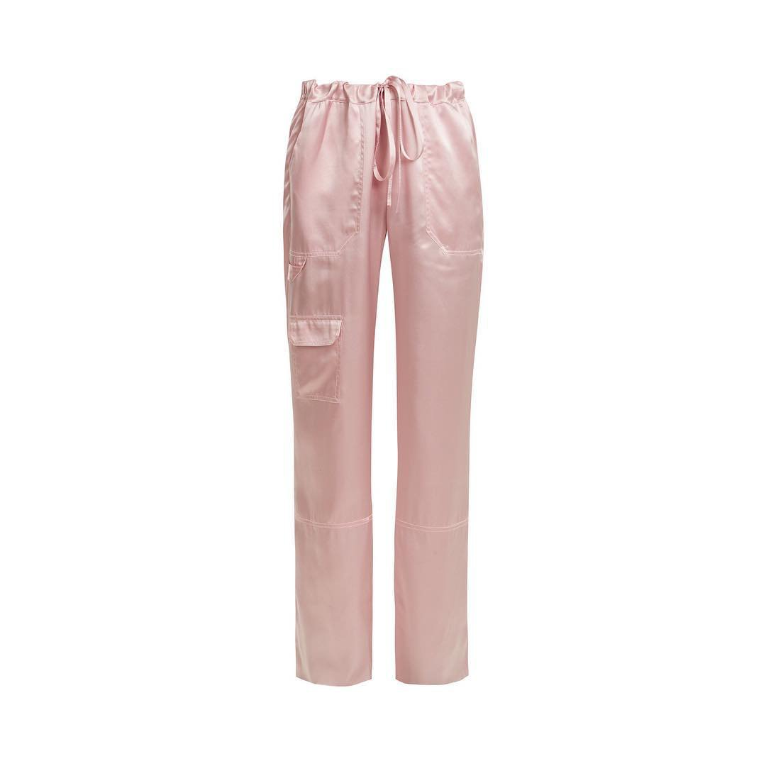 """AnOther Loves on Instagram: """"Pink and slinky 🎀 by @marques_almeida via @matchesfashion #anotherloves #love #trousers #satin"""""""
