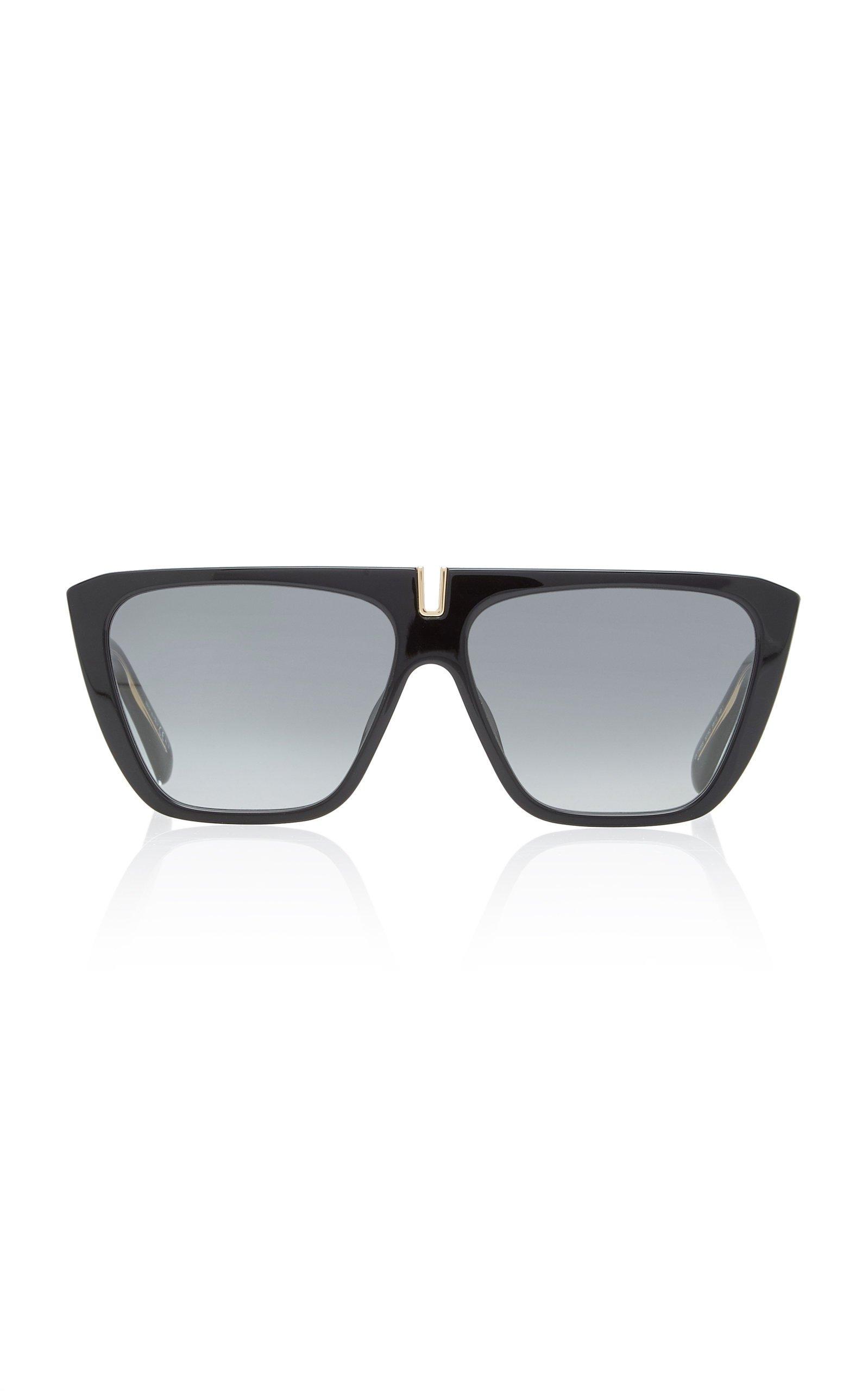 Givenchy Oversized Acetate Square-Frame Sunglasses