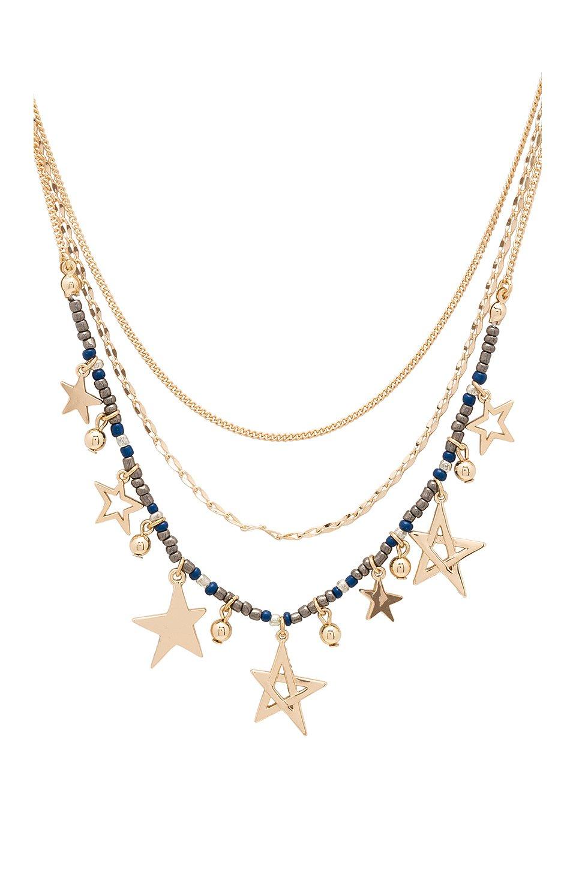 Multi Star Delicate Necklace