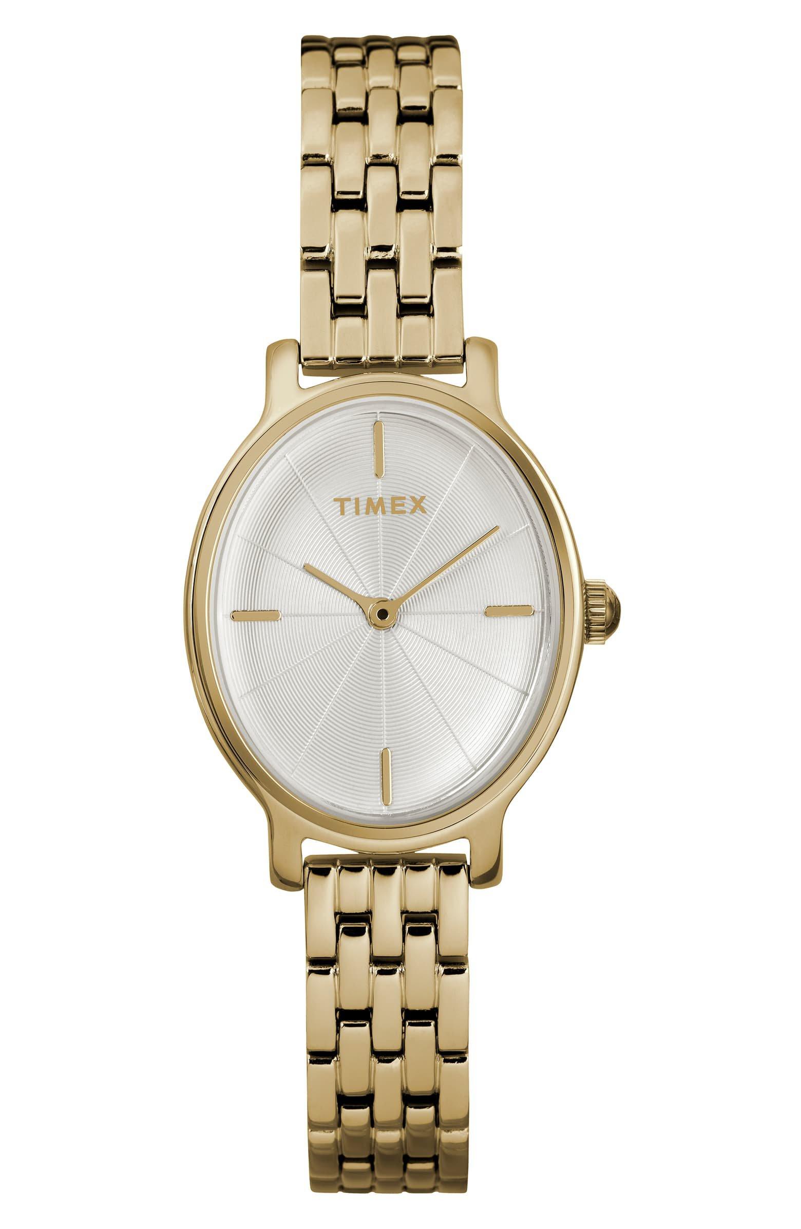 Timex® Milano Oval Bracelet Watch, 24mm | Nordstrom