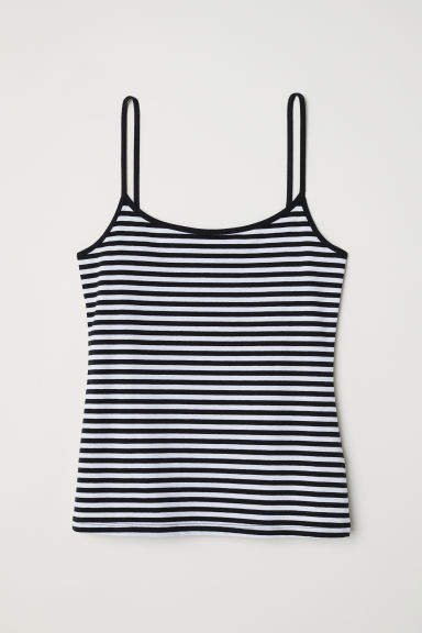 Jersey Camisole Top - White