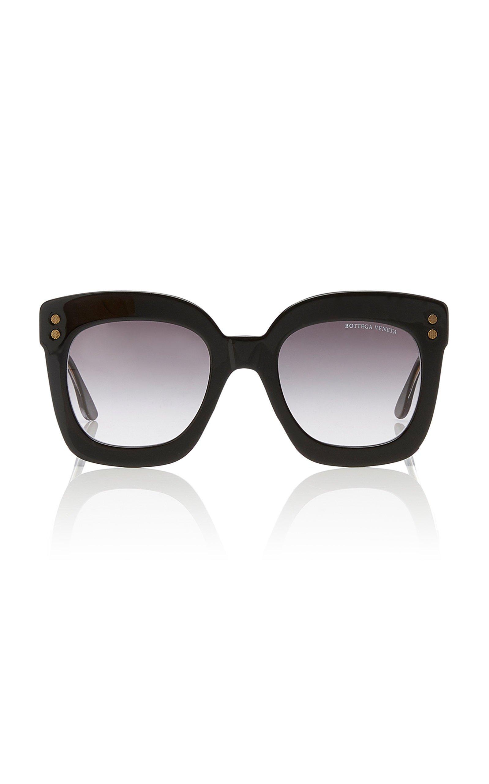 Bottega Veneta Sunglasses Oversized Square-Frame Acetate Sunglasses