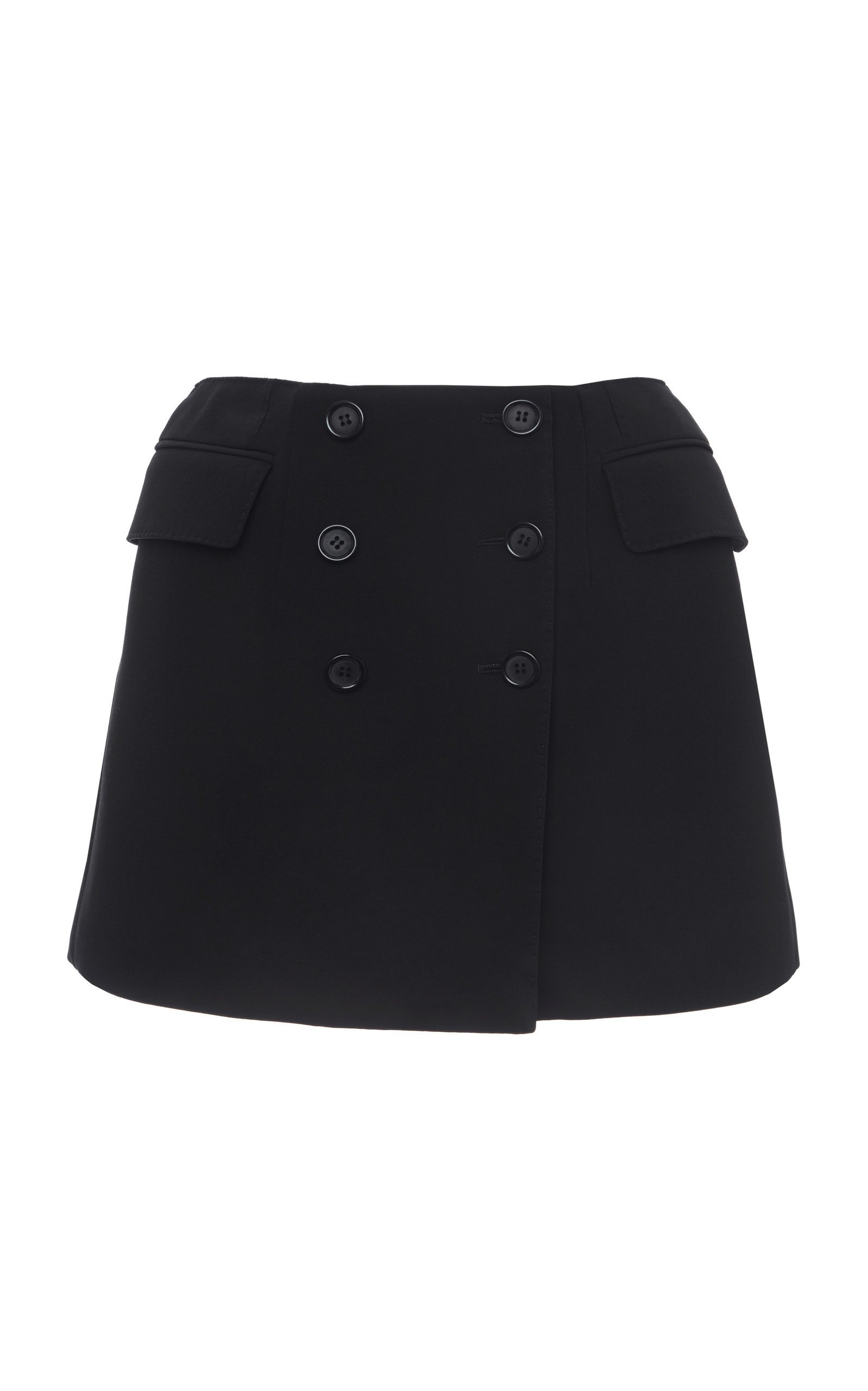 Dolce & Gabbana Wool Mini Skirt Size: 38