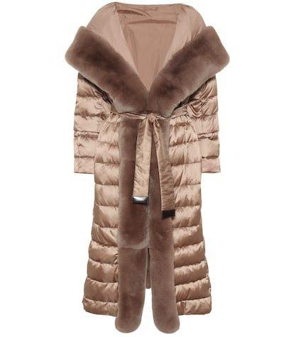 Novelap reversible down coat