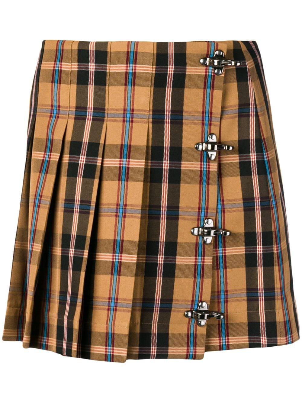 Rokh | Tartan mini kilt skirt